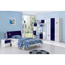 Blue Kids Bedroom Design Model BR 1300