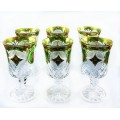 6 Pieces Glassware set Mixed Color