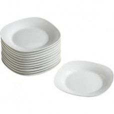 Royal Ceramic Ware Dinner Plate 22 cm Square Shape