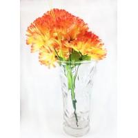 Roses Vase Glass Height 25 cm