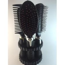3 Hair Brush & Miror Set