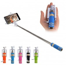 Mini-Monopod-Selfie-Stick-For-Self-stick-android-Palos-Selfie-Wired-Holder-Monopod-No-bluetooth-For