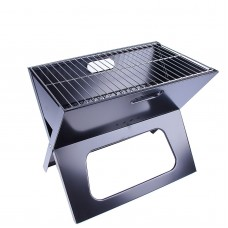 Portable Premium Outdoor Steel Charcoal BBQ Grill Brazier Barbecue Picnic Party