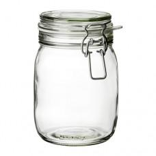 1 Pc Glass Canning Jar