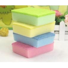 5 Pcs Dish Washing Cleaning Cloth Wipe Brush Sponge Scouring Gadget Kitchen Tools