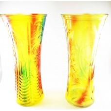 Roses Vase Glass Height 30 cm